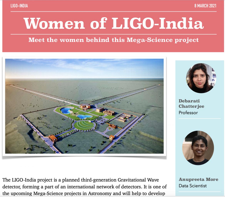 Women of LIGO-India